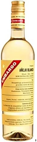 Embargo Ron Blanco Añejo - 700 ml: Amazon.es: Alimentación y ...
