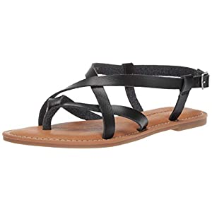 Amazon Essentials Women's Casual Strappy Sandal