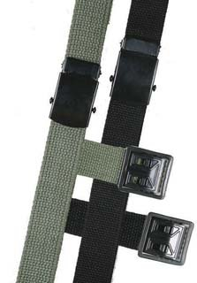 5ive Star Gear Web Belts with Open Face Buckle, Olive Drab, (Face Buckle)