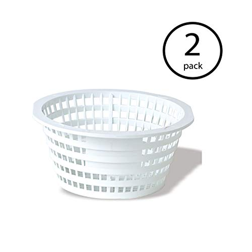 - Swimline 8928 Olympic ACM88 Replacement Swimming Pool Skimmer Basket White (2 Pack)