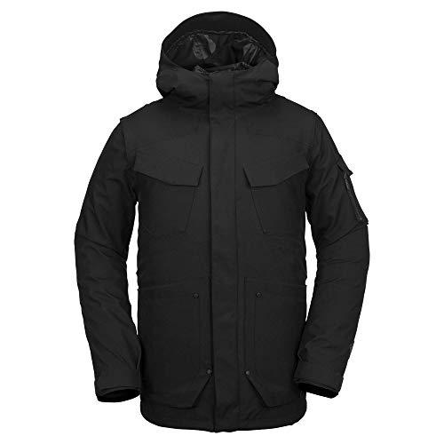 Volcom Men's VCO Inferno 2 Layer Stretch Snow Jacket, Black, Large
