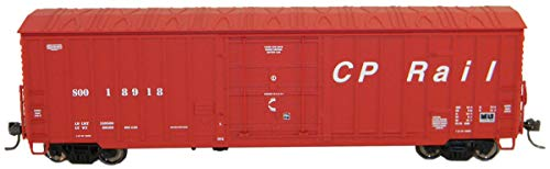 (Fox Valley Models HO Scale 7-Post Boxcar Canadian Pacific/CP Rail #18973)