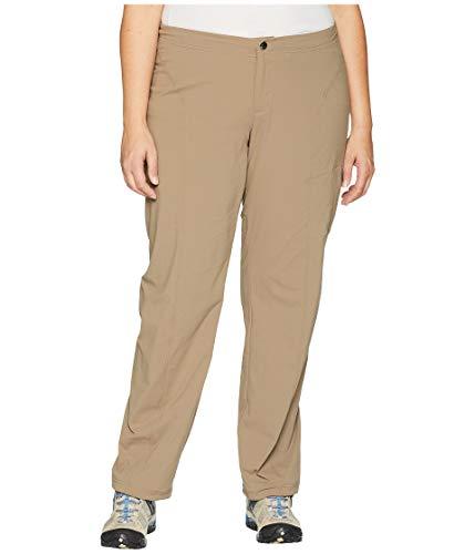 (Columbia Women's Plus Size Just Right Straight Leg Pant, Truffle, 18W Regular)