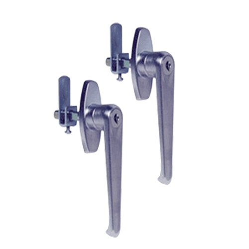 (Sandusky Lee DLH-S Dual Handle Set, Satin Finish)
