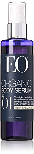 EO Certified Organic Body Serum, Revitalizing, Number 01, 4 Fluid Ounce