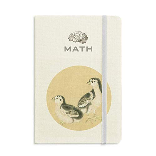 Chicks for Feeding Figure Chinese Painting Math Notebook Classic Journal Diary A5