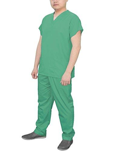Medical Scrub Classics Set by SKYE Mens (Small, Seafoam Green)
