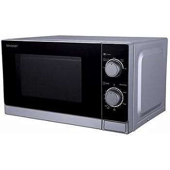 Amazon.com: Sharp R-20CT(S) Microwave Oven, Small, Silver