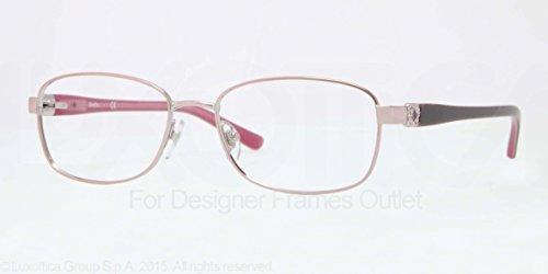 glass Frames 490-54 - Shiny Pink Frame, Demo Lens ()