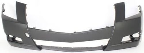 Crash Parts Plus Primed Front Bumper Cover Replacement for 2008-2014 Cadillac CTS