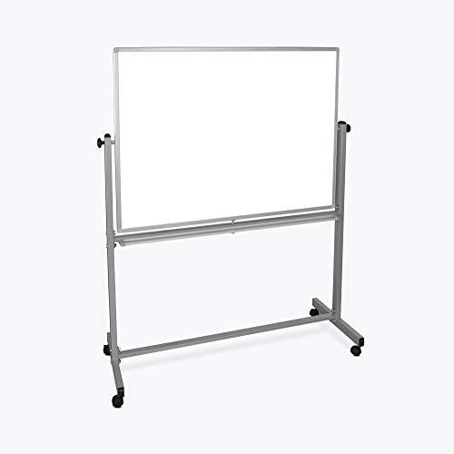Luxor Furniture MB4836WW Mobile Whiteboard-48x36
