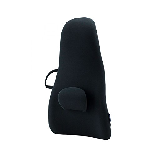 ObusForme Medium Ultra Backrest Support, Conforms To Your Spine, Soft and Durable Polyurethane Foam, Biomechanically Molded, Impact Resistant, Polycarbonate Core Structure, For Optimum Comfort (Molded Polyurethane)
