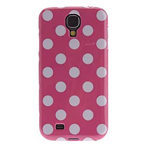 NEW Spot Pattern Soft Protective Soft Back Case for Samsung Galaxy S4 I9500 , Black