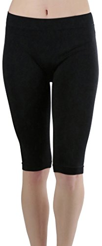Knee Length Spandex Shorts - 3