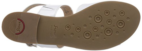Sioux Gisena, Sandales femme White (Weiss)