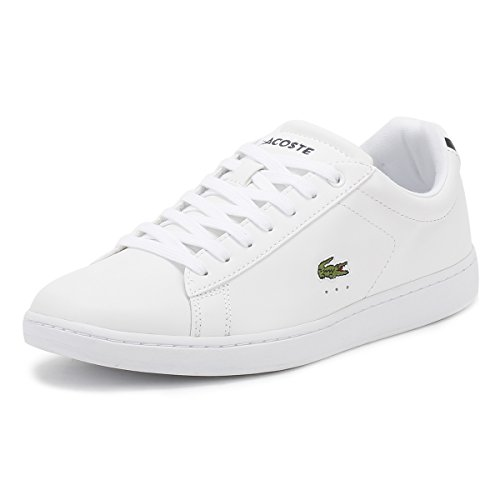 Lacoste Women's Carnaby Fashion Sneaker White 7 M US