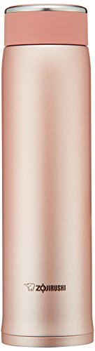Zojirushi SM-LB60NP Stainless Steel Mug, 20-Ounce, Pink Gold