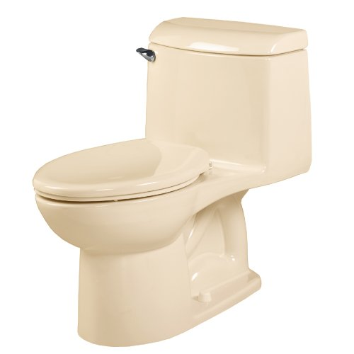 - American Standard 2034.014.021 Champion-4 Right Height One-Piece Elongated Toilet, Bone