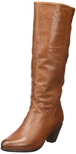 Pastelle Nina - Botas clásicas hasta la rodilla Mujer marrón (camel)