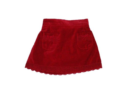 Children's Place Cranberry Velour Skort - Toddler Girls Size (24 Months)
