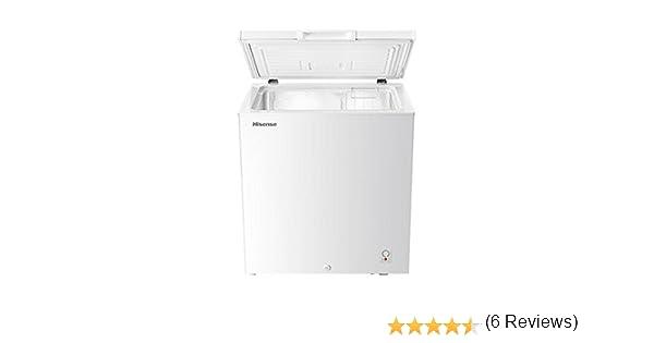 Hisense FT189D4AW1 Independiente Baúl 145L A+ Blanco - Congelador (Baúl, 145 L, 13 kg/24h, SN-T, A+, Blanco): 169.4: Amazon.es: Grandes electrodomésticos