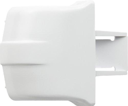 Ge White Bottom Freezer Refrigerator - 8