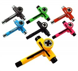 Reflex Utili-Tool Skate Tool (Orange/Chrome)