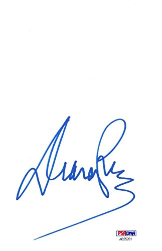 Diana Ross Signed Authentic Autographed 5×8 Cut Signature PSA/DNA #AB25201