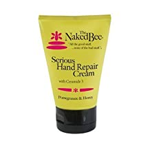 Serious Hand Repair Cream in Pomegranate & Honey 3.25 oz(pack of 2) by The Naked Bee