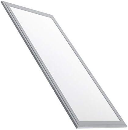 Panello LED Slim 60x30cm 36W Argento Bianco Freddo 6000k-6500K LEDKIA