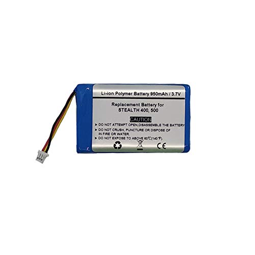3.7V/950mAH Replacement Battery for Stealth 400, Stealth 500, FT603048P Wireless Headset