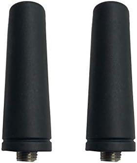 [해외]2X SMA-Female 144430MHz VHF UHF Dual Band Antenna for Kenwood TK-280 TK-380 Baofeng UV-5R UV-82 BF-888S BF-F8HP DM-5R DM-1701 DM-1801 WOUXUN KG-UV6D KG-UVD1P Two-Way Radios / 2X SMA-Female 144430MHz VHF UHF Dual Band Antenna for Ke...