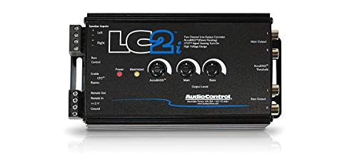 (AudioControl LC2i 2 Channel Line Out Converter Wwith AccuBASS and Subwoofer Control)