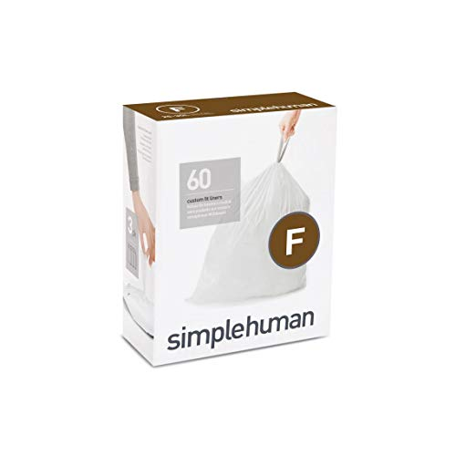 simplehuman Code F Custom Fit Trash Can Liner 25 Liter, used for sale  Delivered anywhere in Canada