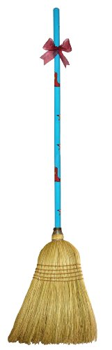Cute Tools Garden Broom - Landscaping Instrument, Sweep and Dust With This Garden Accessory, Hand Painted Wooden Broomstick In The USA, Durable Yard and Gardening Equipment From CuteTools! - Art For A Cause, Lonestar by CuteTools!