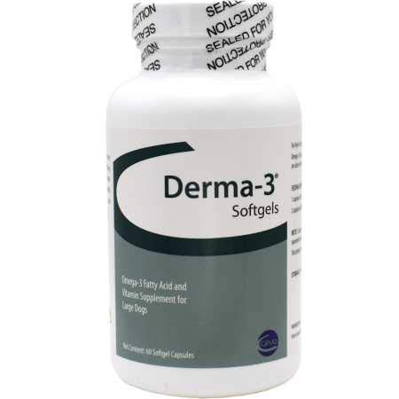 Vitality Systems / Sogeval Labs Derma-3 Softgels for Large Breeds, 250 ()