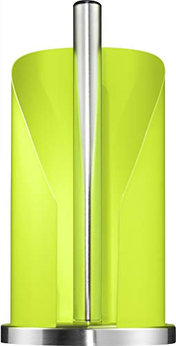 Wesco - German Designed - Steel Paper Towel and Toilet Paper Holder, Lime Green ()