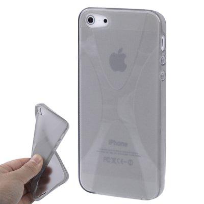 iPhone 5 / 5S Hülle in grau aus Silikon -Original nur von THESMARTGUARD-