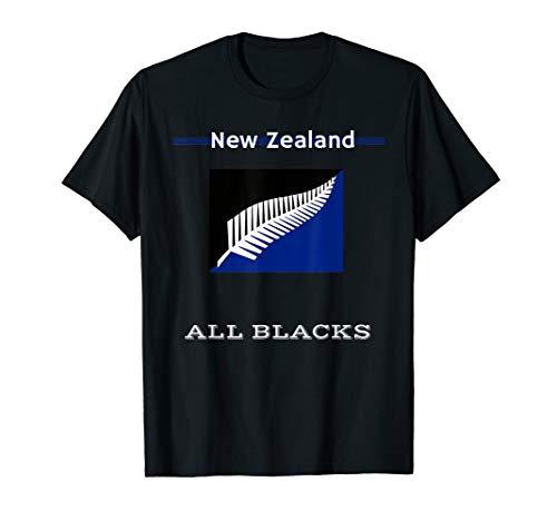 New Zealand Rugby Shirt - Maori Rugby Team | NZ Silver Fern