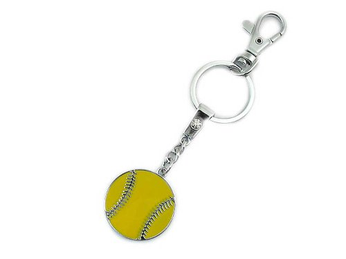 Softball Keychain: #1 Top Selling Gift for Softball Player, Coach and Team. Why Purchase Another Softball - Players Top Softball