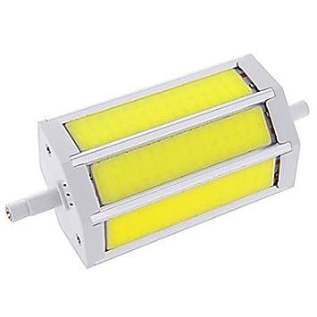 15W R7S Bombillas LED de Mazorca T COB LED COB 1200LM lm Blanco Cálido / Blanco