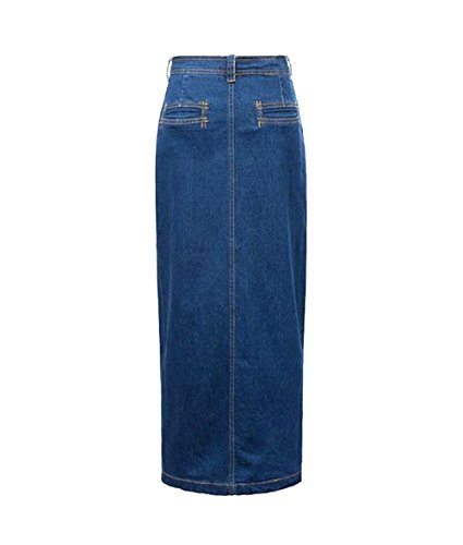 Bodycon Denim Casual Gonna Lungo Skirts Mode Gonna Jeans Jeans Vita Denim Alta A Donna Mode Gonna clothing COCO Line vqwZSAw