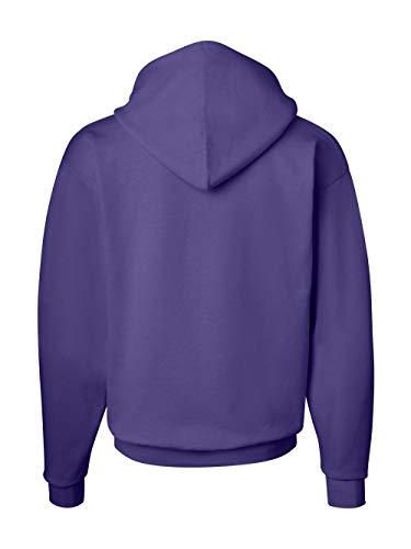 Sudadera con capucha EcoSmart Fleece para hombre de Hanes, violeta, 4X grande