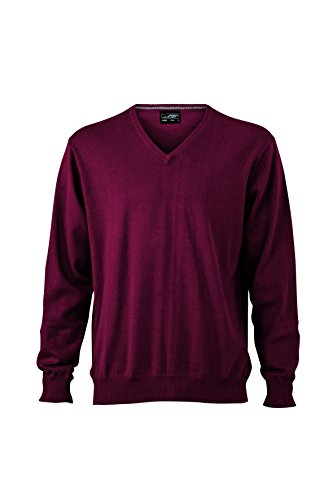 Pullover neck Uomo Nicholson V Bordeaux James Maglione amp; gIwAt