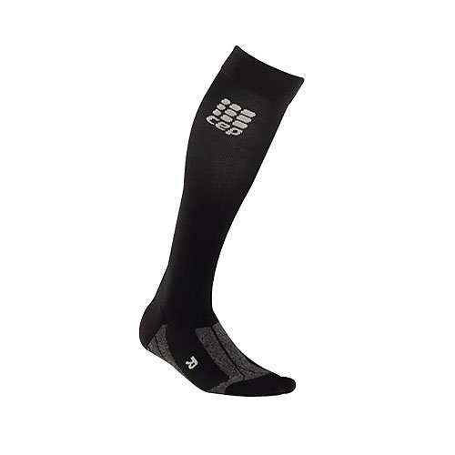 気まぐれな課すずるいCEP Women's Run+ Recovery Compression Sport Socks Combo Pack, Size III (Calf 12.5-15-Inch), Black by CEP [並行輸入品]