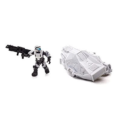 Mega Bloks Halo Drop Pod Metallic Arctic ODST Toy Figure: Toys & Games