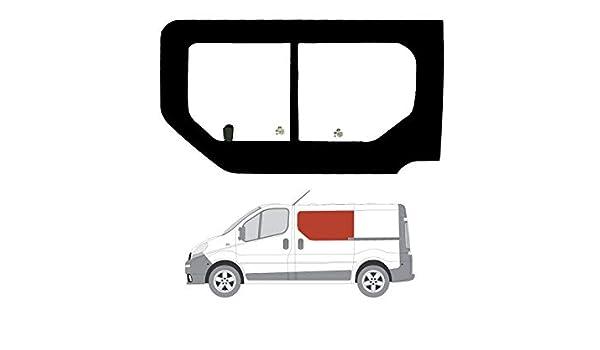 Mano izquierda ventana de apertura transparente para puerta corredera Renault Trafic (2001 – 2014): Amazon.es: Coche y moto