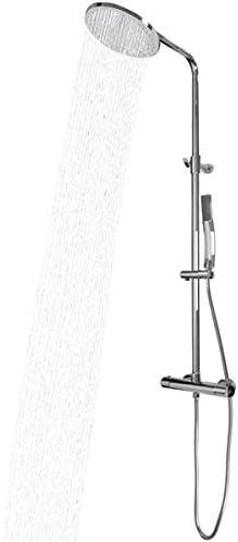 ESSEBAGNO – Columna de ducha cromado con grifo termostático ...