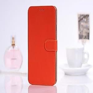 Luxury Case Wallet Leather Case for Samsung Galaxy Note 3 , Orange