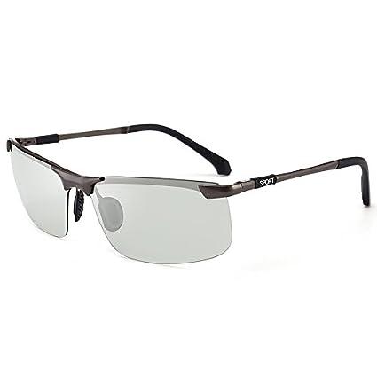 HUBINGRONG Gafas de Sol polarizadas de Alta definición Gafas de Sol de camaleón Gafas de Sol